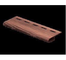 Завершающая планка Timberblock Дуб Мореный 3,05м
