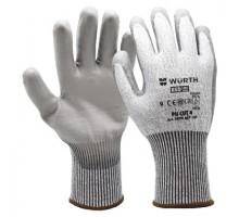 0899407109 Перчатки защитные трикотажные, покрыты полиуретаном Pu CUT4